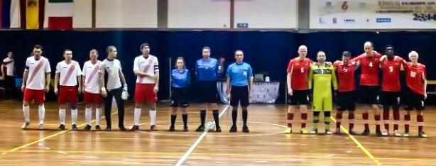 Diego Ferrari e Silvia Muzio agli Europei IBSA di Calcio a 5