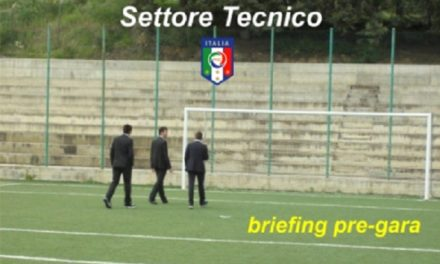 Briefing pre-gara
