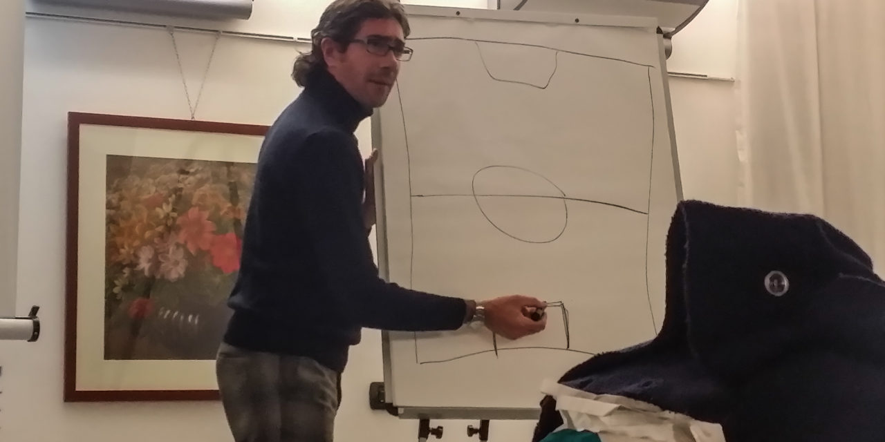 Bergonzi in visita a Chiavari: «il riassunto di 9 mesi di presidenza»