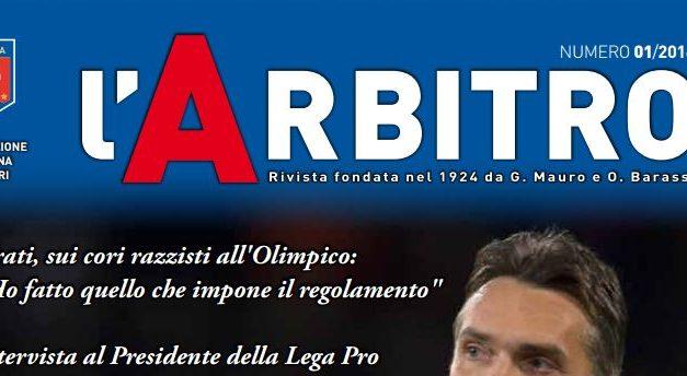 """Rivista """"l'Arbitro"""", Tavecchio: """"Arbitri attenti, preparati e competenti"""""""