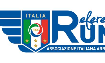 Al via la quarta edizione della RefereeRUN AIA