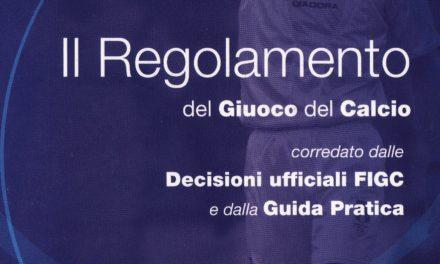 Regolamento giuoco calcio 2018