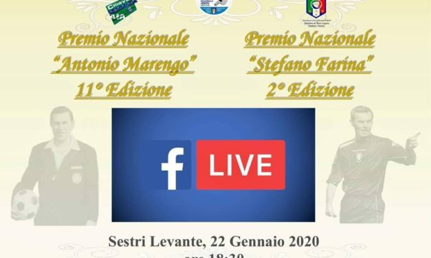 "Diretta Streaming 11° ed ""Premio Marengo"""