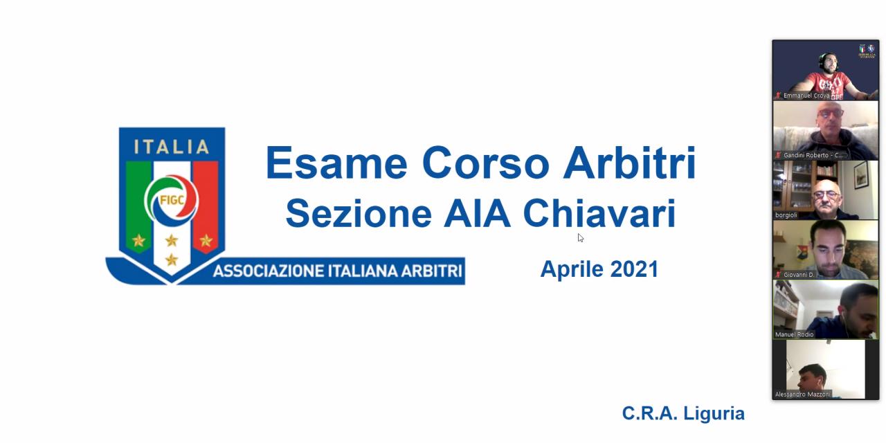 Esito corso arbitri 02/2021