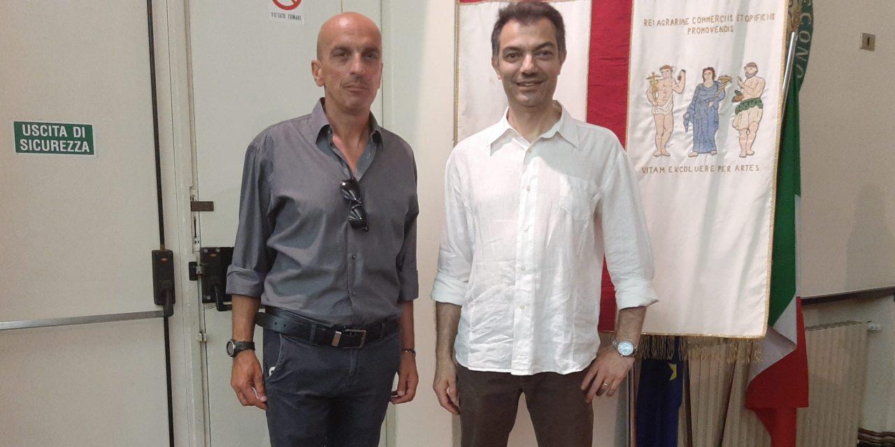 MATTEO Giuffra nuovo presidente della sezione di chiavari